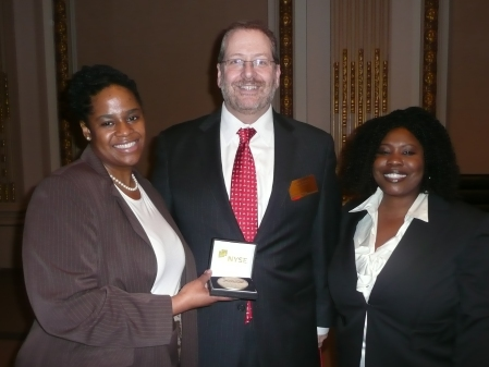 Mshaka with Agent Regina Brooks, Serendipity Literary Agency and Jamie Carey, CMO, Barnes & Noble