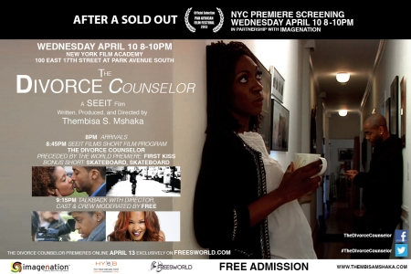 Freesworld.com & ImageNation Join Forces For The Divorce Counselor NYC Premiere